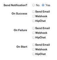 Notification form