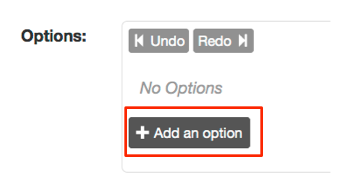 Add option link