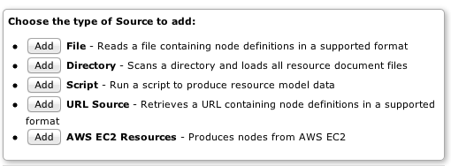 Add Node sources in the GUI